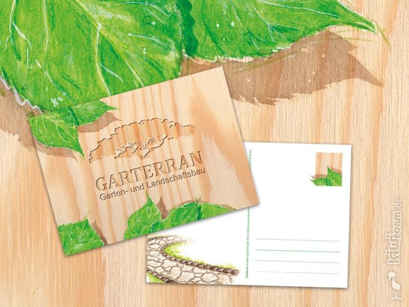 design & druck - kiwiform illustration & design., Garten Ideen